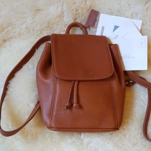 Coach Vintage Sonoma Leather Backpack 4925 Brown